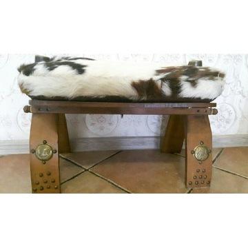 vintage pufa siedzisko