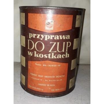 **AMINO** PUSZKA 1972 r PRL  Przyprawa do zup