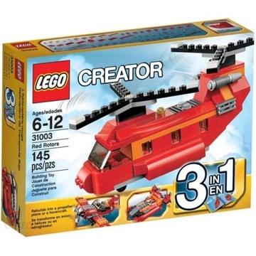 Lego CREATOR 3w1 31003 śmigłowec samolot motorówka