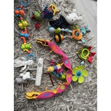 Zestaw zabawek - pałąk do wózka / fotelika