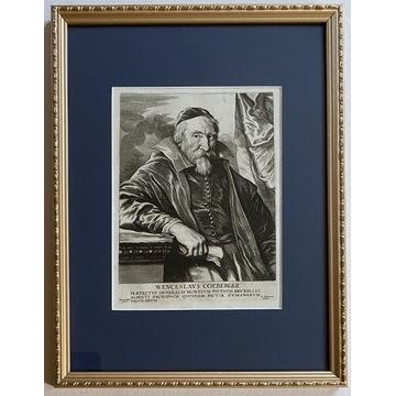 Lucas Vorsterman (1595-1675) wg Van Dyck oryginał