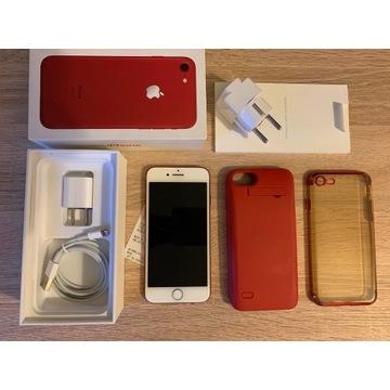 iPhone 7 RED 128 GB+zestaw