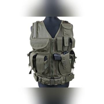 Kamizelka ASG 39 olive nowa ładownice GFC Tactical