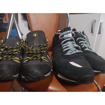 Adidas 46 i Trekingowe Merrell rozmiar 43 210