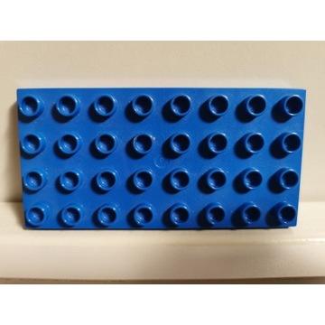 LEGO DUPLO płytka konstrukcyjna niebieska 4x8
