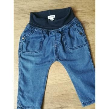 Spodnie, dżinsy Newbie roz 68