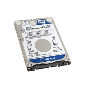 Dysk HDD 500GB  2.5'' WD WD5000LPCX SATAIII