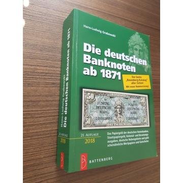 Katalog banknotów niemieckich i związan. od 1871