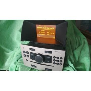 Radio CD30 mp3 + Wyświetlacz GID Astra H komplet