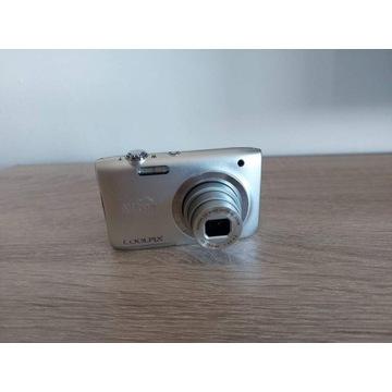 Aparat Nikon+karta 32 GB+futerał