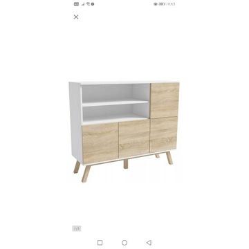 NOWA komoda + stolik w stylu skandynawskim.