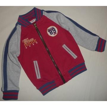 KappAhl H&M bluza bejsbolówka rozmiar 98 104
