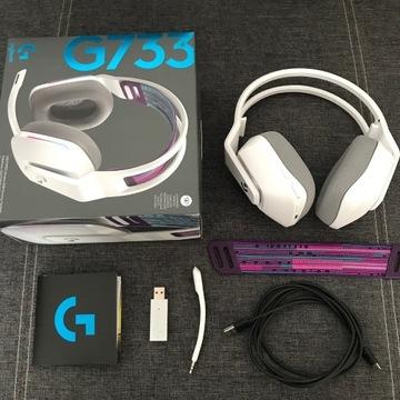 Logitech G733 wireless - słuchawki bezprzewodowe