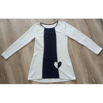 Tunika bluzka długi rękaw
