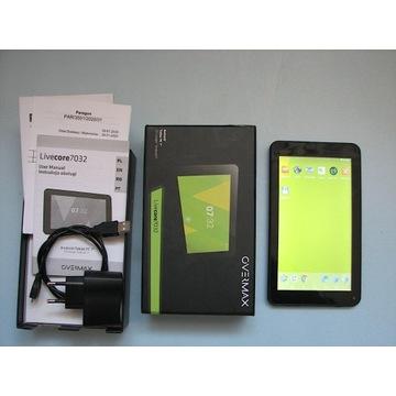 Tablet OVERMAX LIVECORE 7032 komplet gwaracja