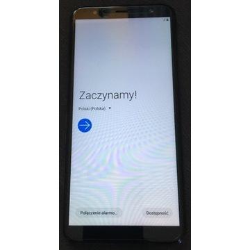 Smartfon Samsung Galaxy J6+ Czarny 32GB