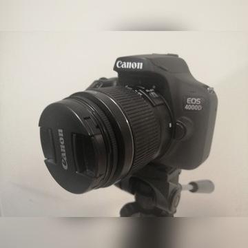 Canon EOS 4000 D + obiektyw 100-300 mm GWARANCJA