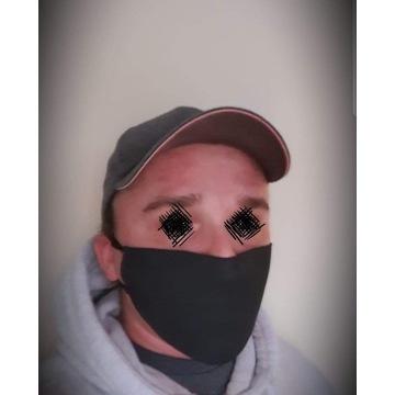 Maska streetwear neoprenowa z filtrem do biegania
