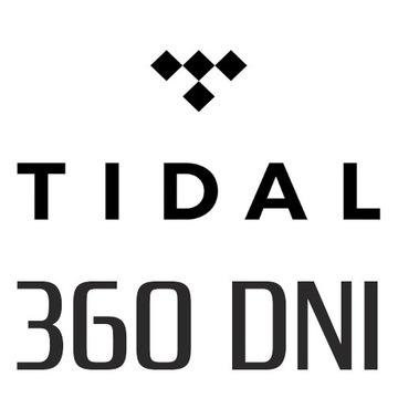 TIDAL 360 DNI PREMIUM | 12 MIESIĘCY | 12x30