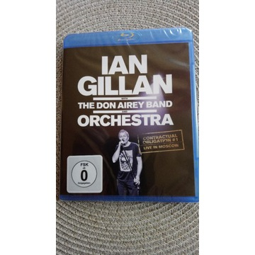 IAN GILLAN  Don Airey Band Live in Moscow Blu-Ray