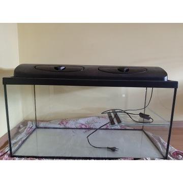 Akwarium dla żółwia112litr+mata +filtr+grzałka