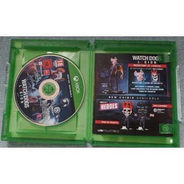 Watch Dogs Legion Xbox one series s x PL