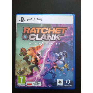 Ratchet & Clank Rift Apart gra na PS5.