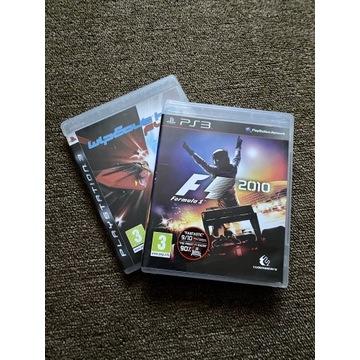 Gry PS3: F1 2010, Wipeout HD FURY
