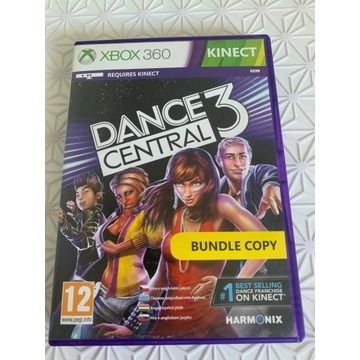 GRA DANCE CENTRAL 3 XBOX 360