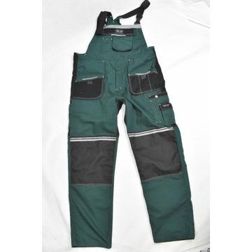 Spodnie robocze ogrodniczki FORT WORK r. 56
