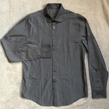 CALVIN KLEIN NOWA koszula męska 41 slim fit prążki