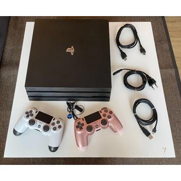 PlayStation 4 PRO - 2x DUALSHOCK 4 - NOWY DYSK 1TB