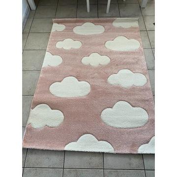 Miękki dywan dziecięcy chmurki 120x170 cm OKAZJA