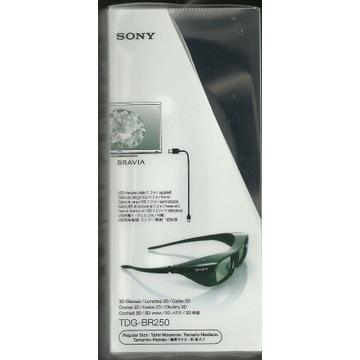 Okulary 3D SONY - TDG BR 250