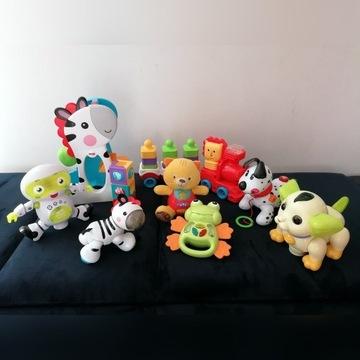 Mega zestaw zabawek, interaktywne, Fisher Price