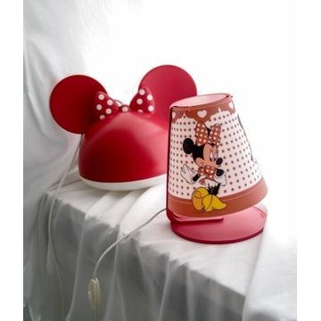 lampa sufitowa + Lampka nocna Myszka Minnie Mouse