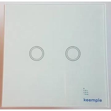 _|_ NOWY - keemple włącznik podwójny przełącznik