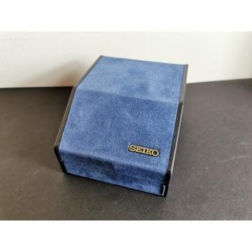 SEIKO Oryginalne pudełko na zegarek vintage 80s