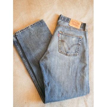 Spodnie Jeansy Levi's 751 Jasnoniebieskie