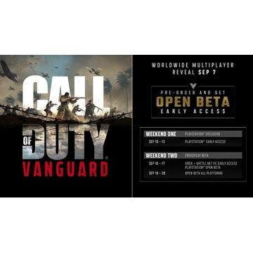 Call of Duty: Vanguard DOSTĘP DO BETA | KLUCZ |