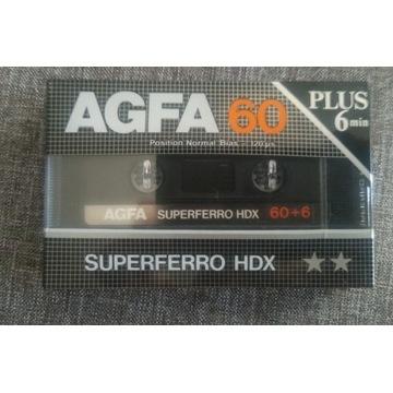 Kaseta magnetofonowa AGFA