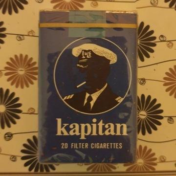 Stare papierosy Kapitan idealny stan PRL