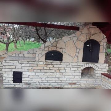 Piec Chlebowy Grillo Wędzarnia Gril Grill Murowany