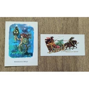 Pocztówki świąteczne, Szancer, Orłowska-Gabryś