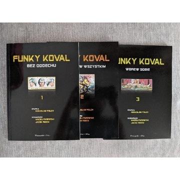 Paradowski, Polch, FUNKY KOVAL, tom 1-3