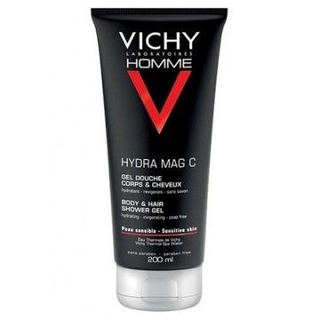 VICHY HOMME HYDRA MAG C 200ml żel prysznic GRATIS