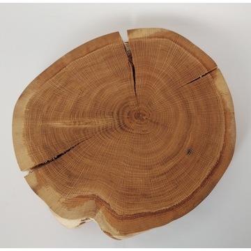Plaster drewna deska na przekąski dąb