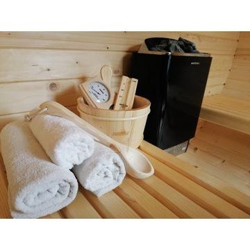 Sauna fińska ogrodowa beczka 2,5 m