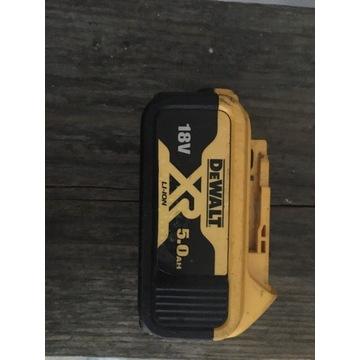Akumulator DCB 184 DeWalt 18V 5.0 ah 2019r.