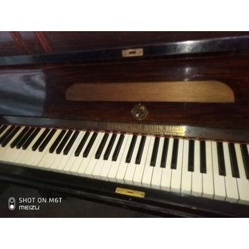 Pianino Antyk Rud. Ibach Sohn, Barmen German